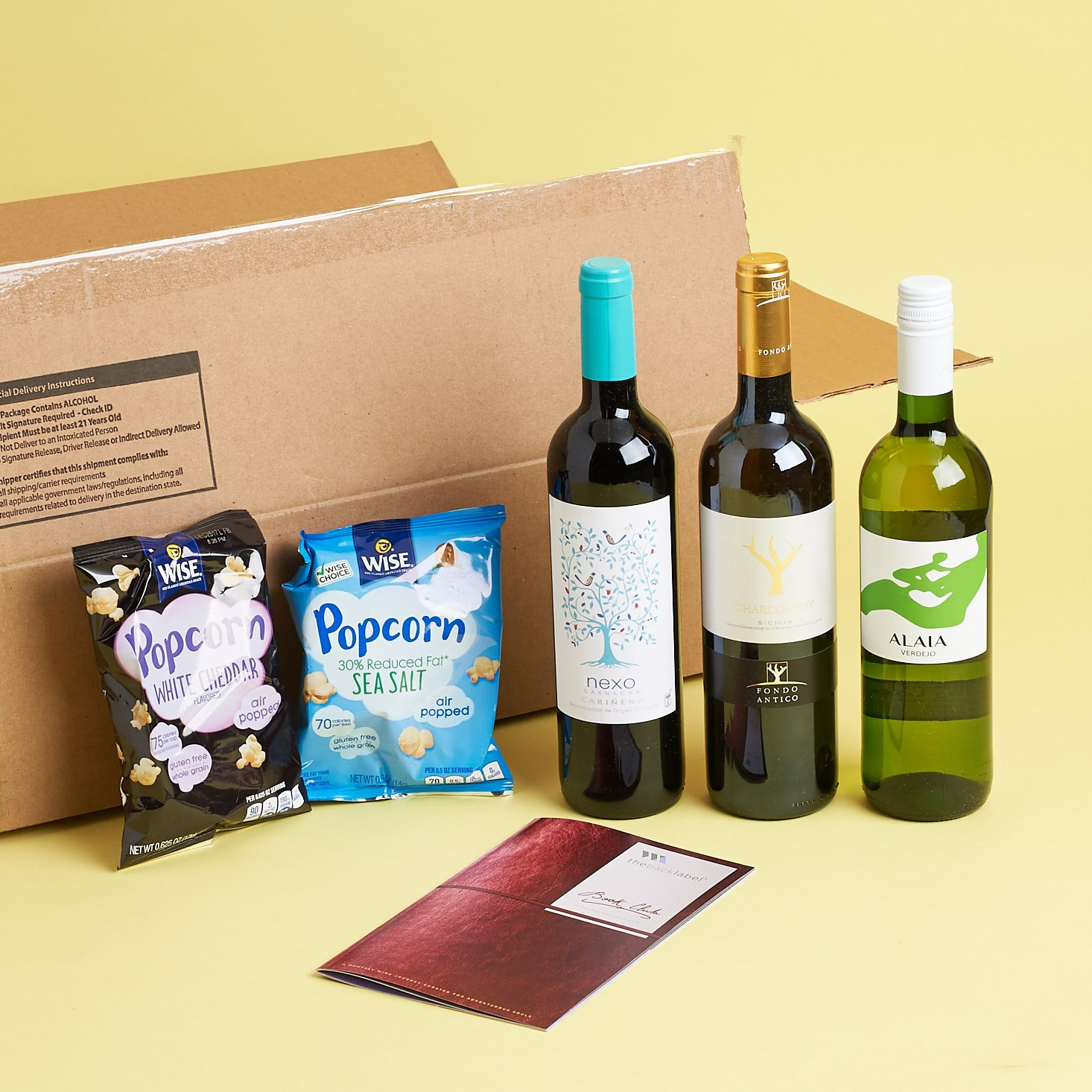Wine Awesomeness Box Review + Coupon – October 2017