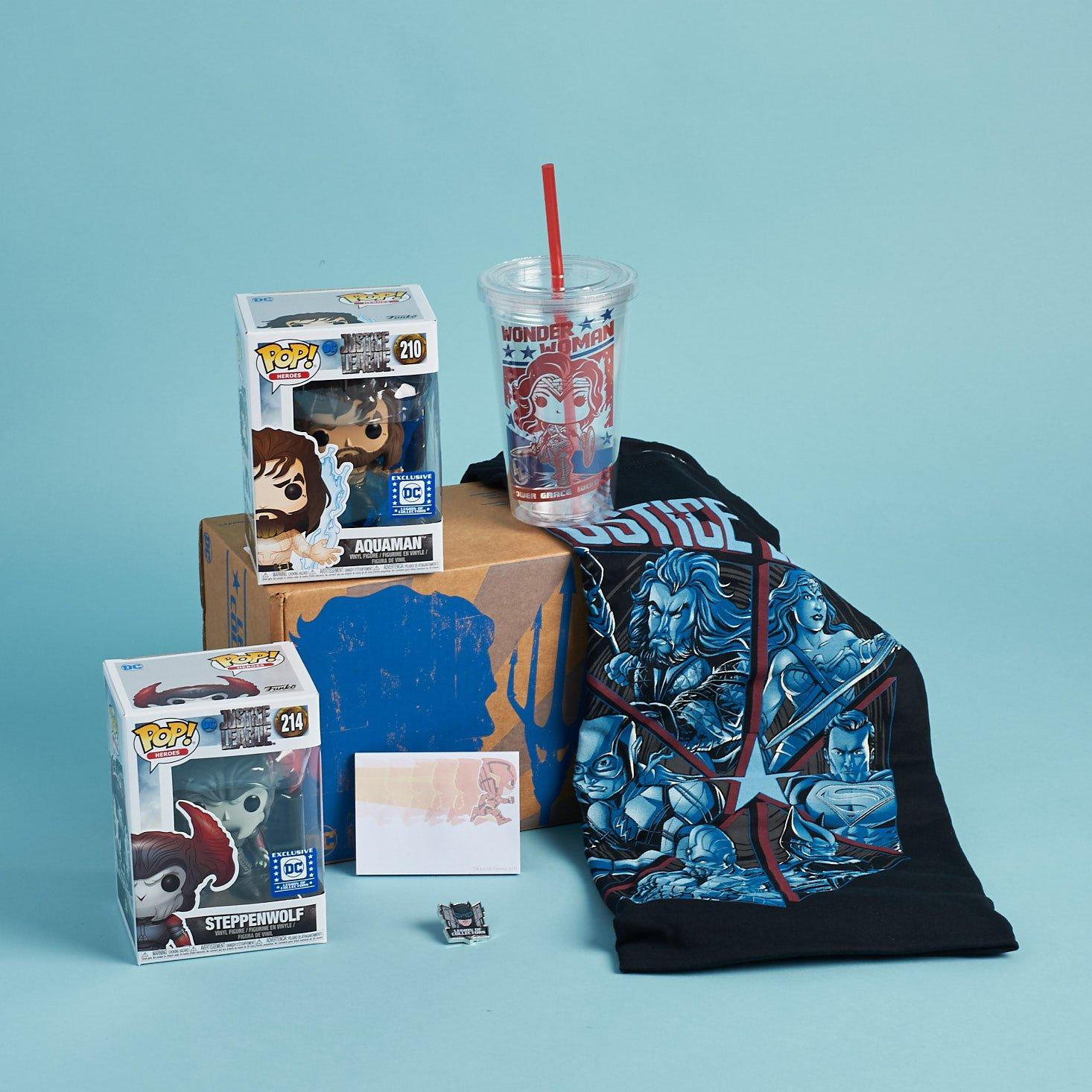 Legion of Collectors Subscription Box Review – Justice League