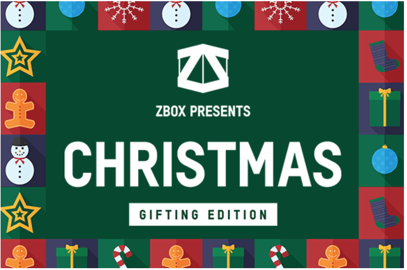 Limited Edition Christmas ZBox Available For Pre-Order!