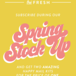 Happy Mail Coupon – FREE February Box with Pre-Paid Subscription!