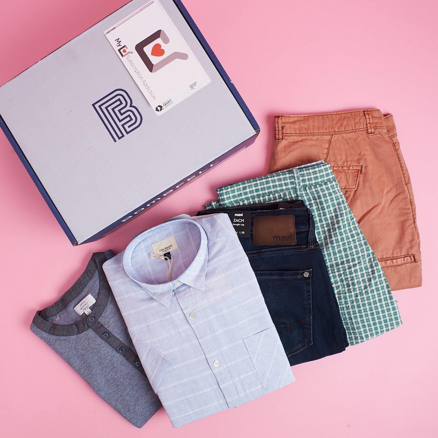 Bombfell Best Clothing Boxes for Men 2018