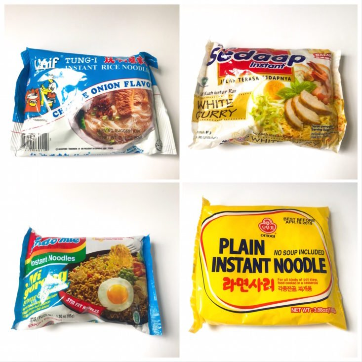Review for Exotic Noods Food Subscription Review - August 2018