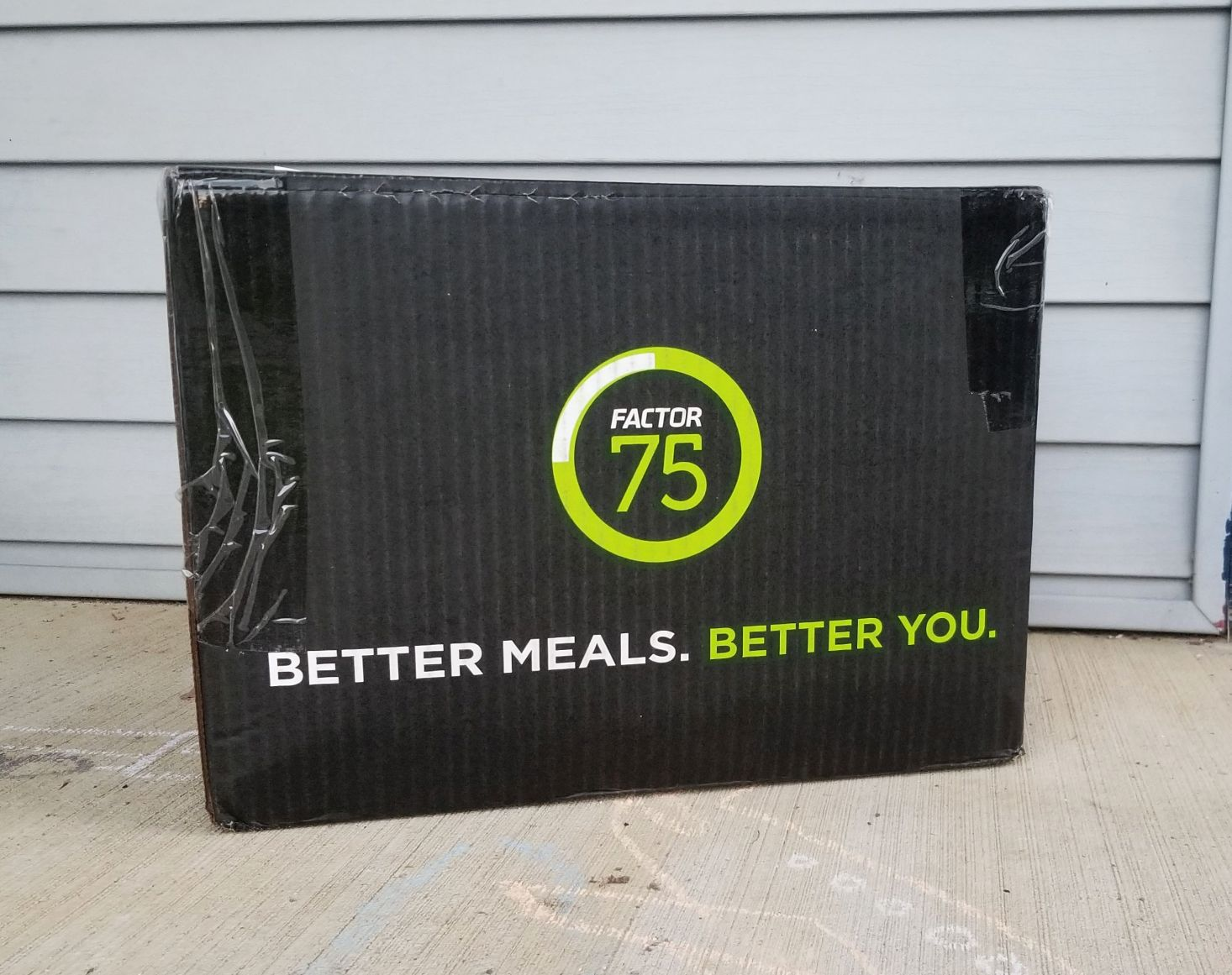 Factor 75 Meal Delivery Subscription Box Review – October 2018