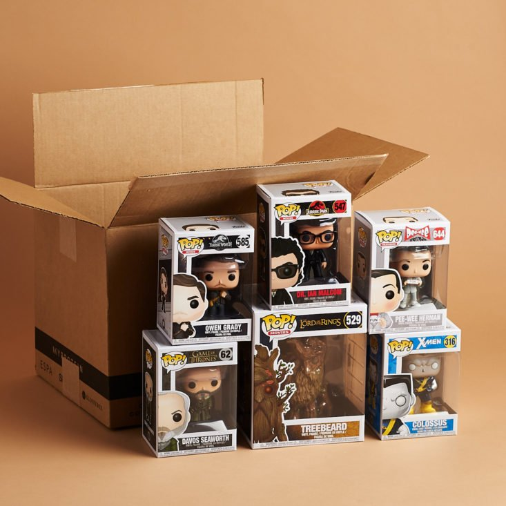 Pop In A Box November 2018 - All Products Front