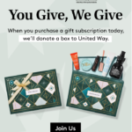 Today Only! Birchbox Giving Tuesday – Up To 25% Off + United Way Donation With Gift Subscriptions!