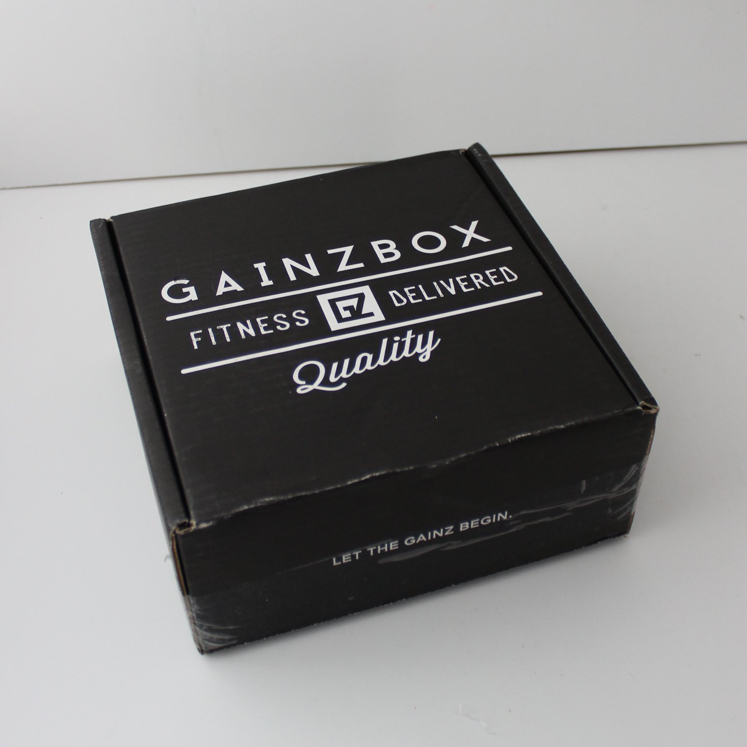 Gainz Box Fitness Subscription Review – November 2018