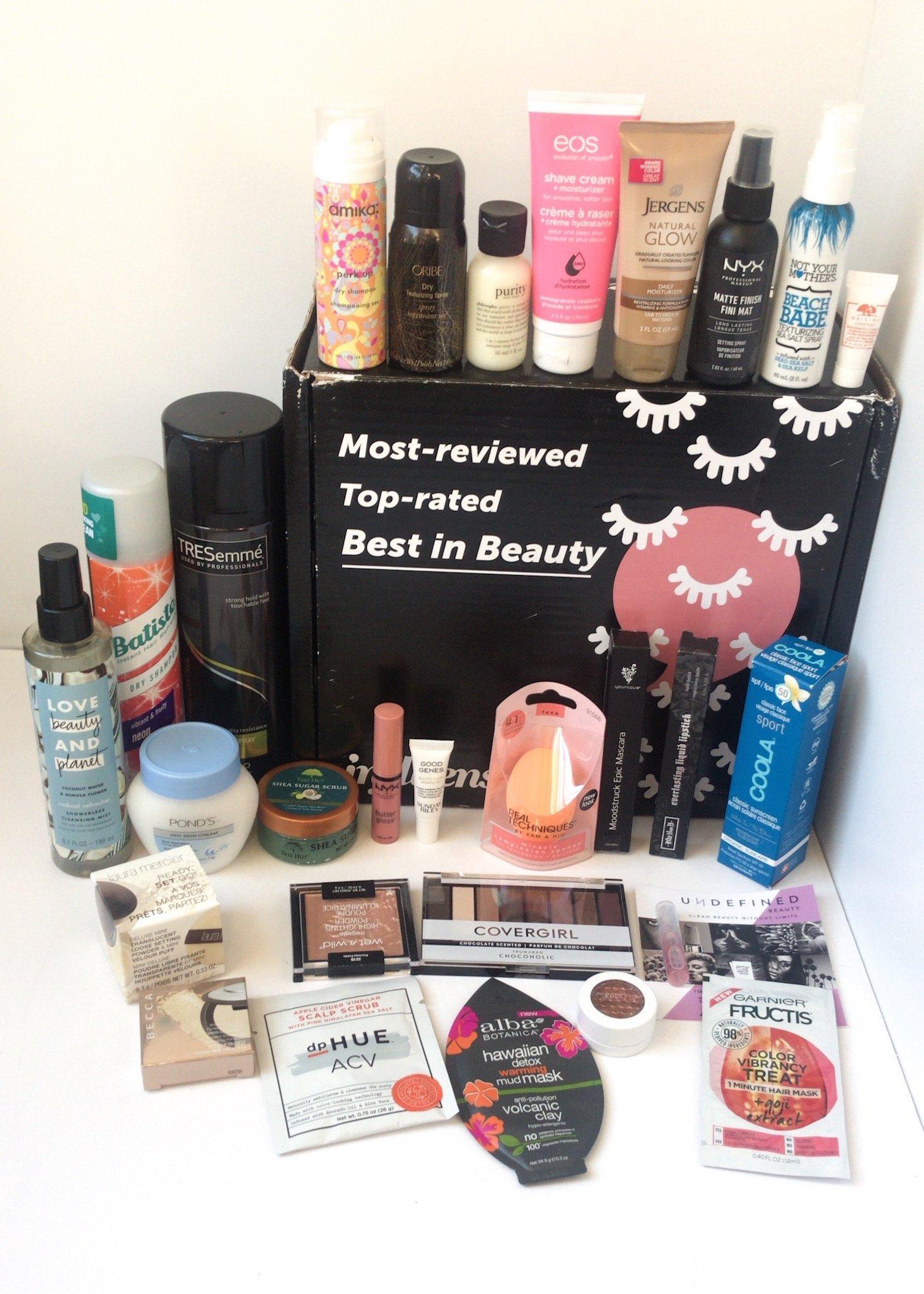 Influenster Reviewer's Choice Beauty Box Review