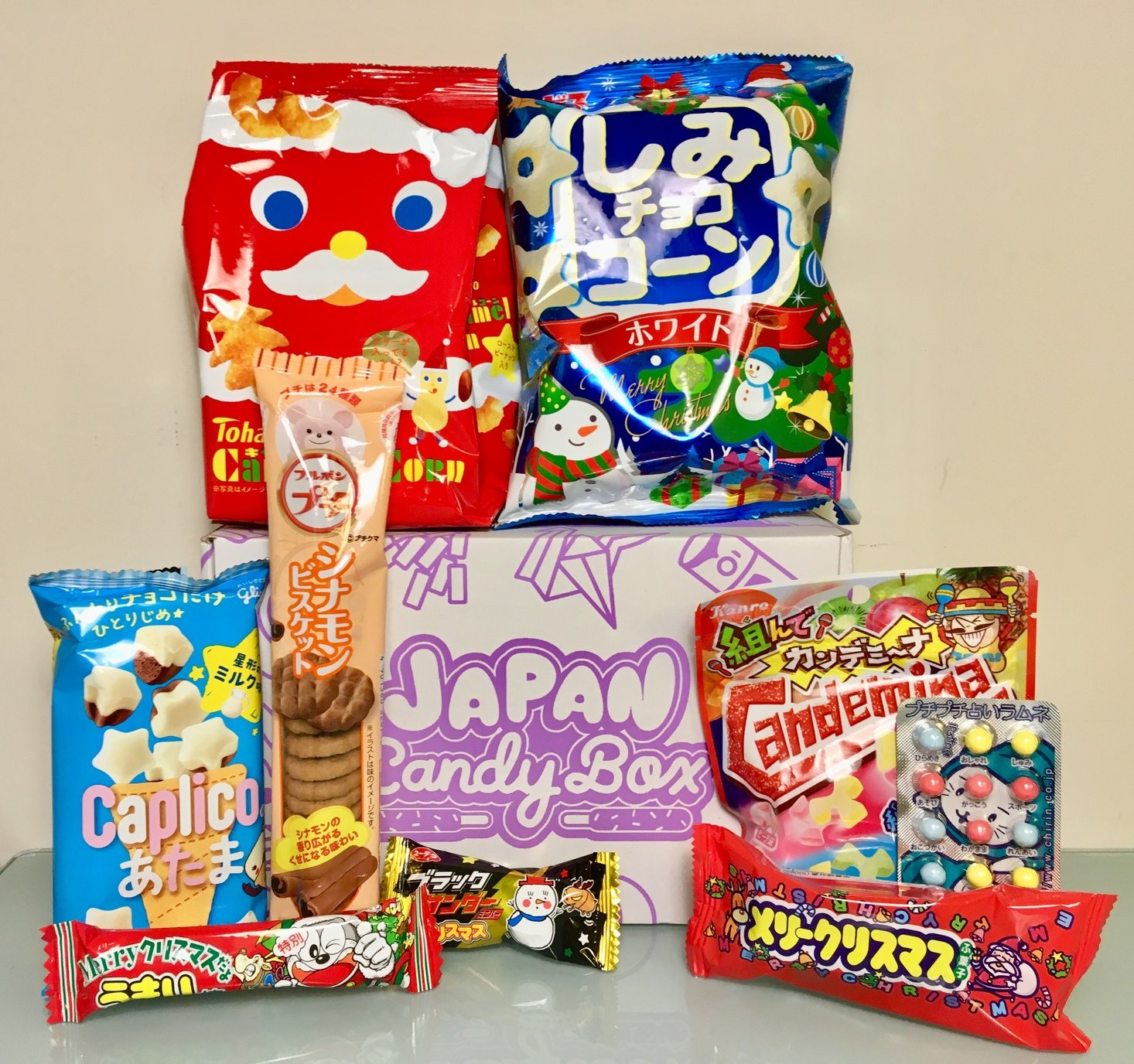 """Japan Candy Box """"Japanese Christmas"""" Review – December 2018"""
