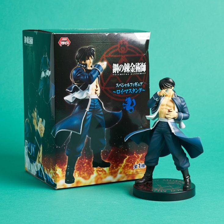 Lootaku November 2018 - Furyu Fullmetal Alchemist Roy Mustang Opened With Box Front