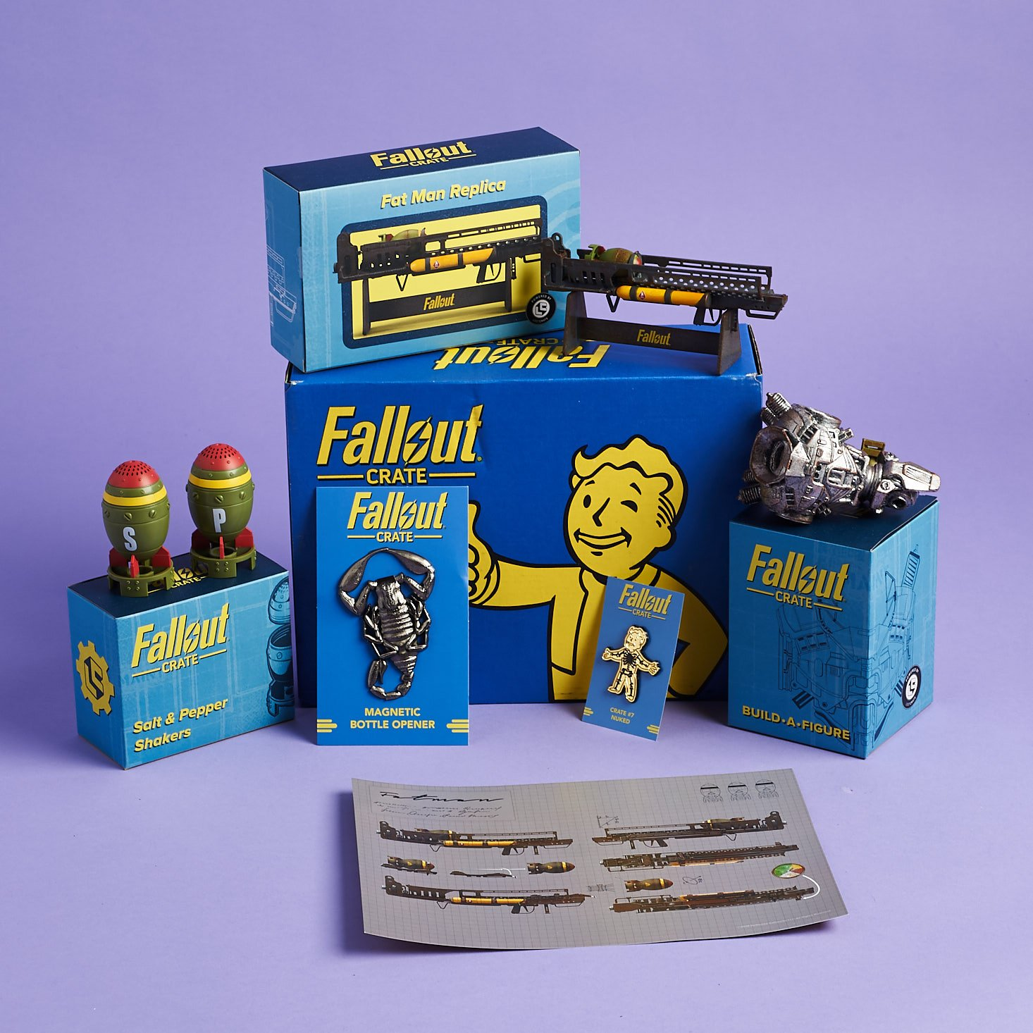 Fallout Crate Subscription Box Review + Coupon – December 2018