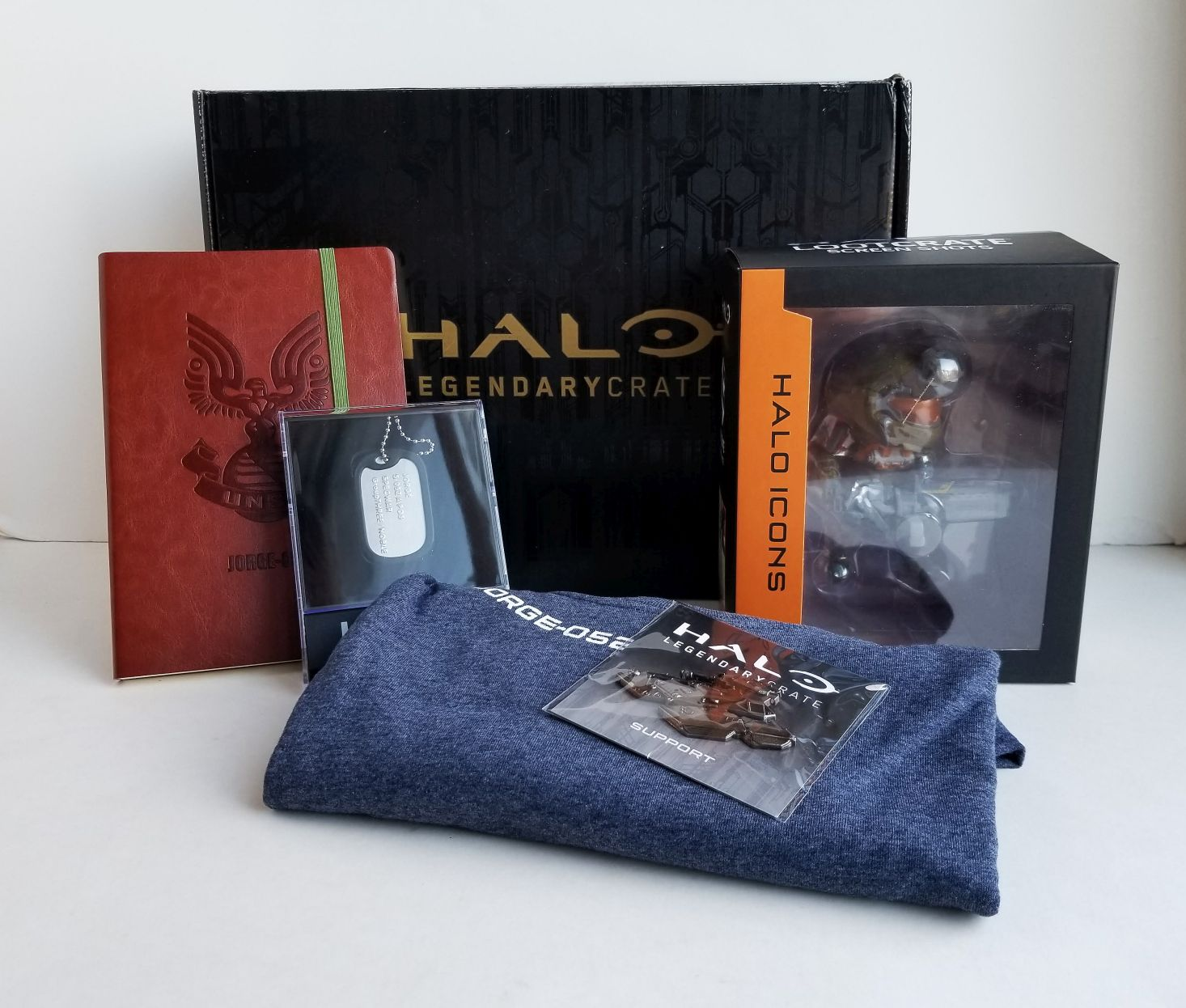 Halo Legendary Crate Subscription Box Review + Coupon –  December 2018