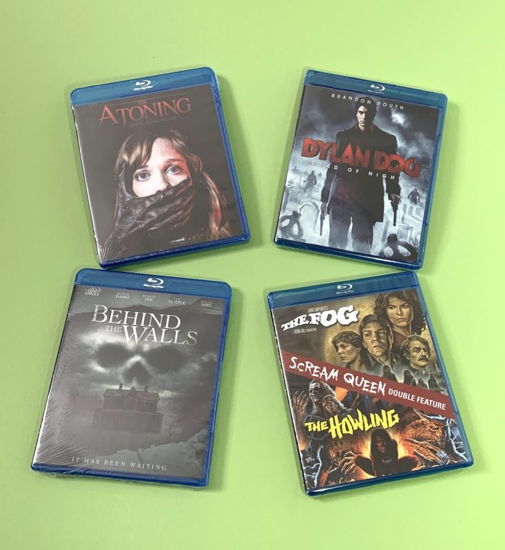 Horror Pack January 2019 - Contents