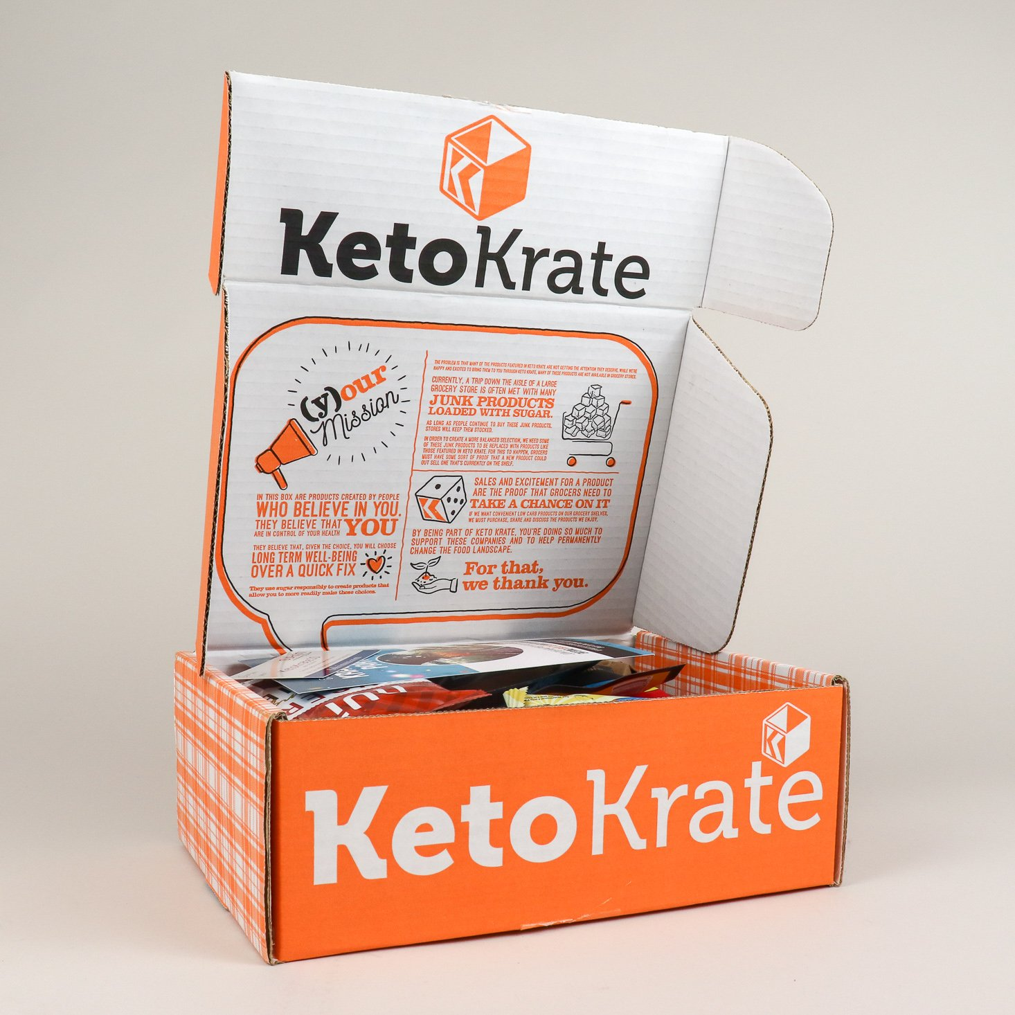 Keto Krate Subscription Review + Coupon – January 2019