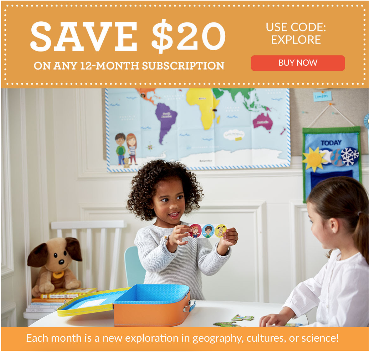 Little Passports Coupon – $20 Off Annual Subscriptions!