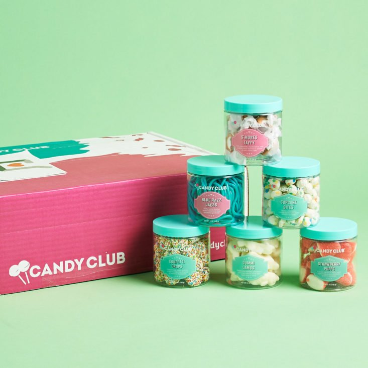 Candy Club April 2019 review all candies
