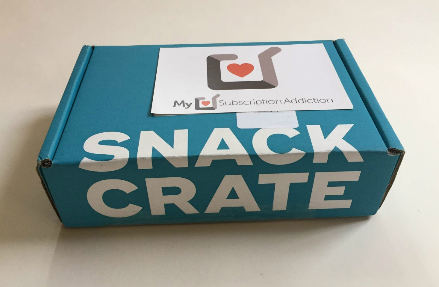 """Snack Crate """"France"""" Review + Coupon – April  2019"""