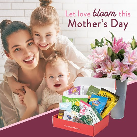 Love with Food Mother's Day Deal – Free Bouquet with Subscription