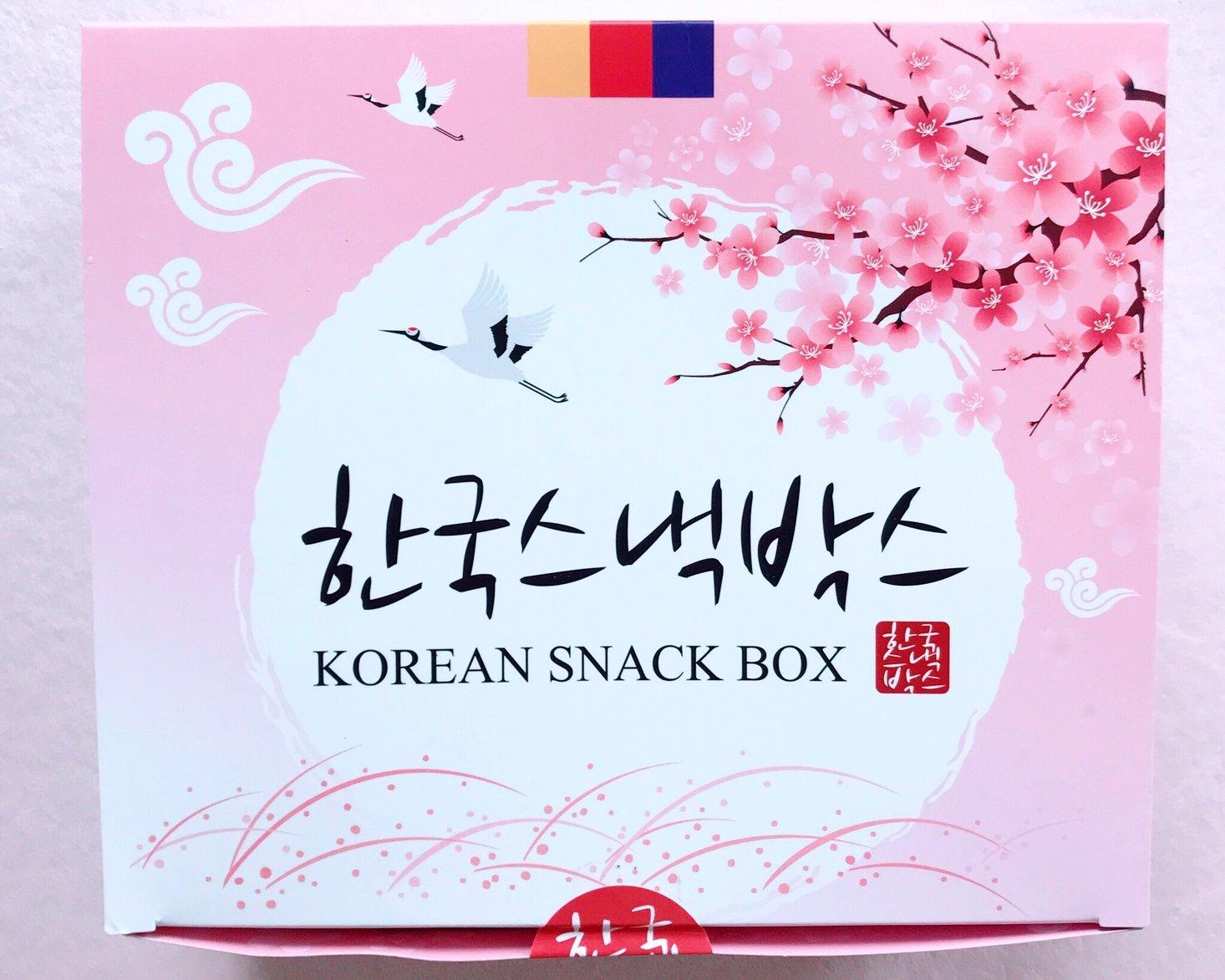 Korean Snack Box Review + Coupon – June 2019