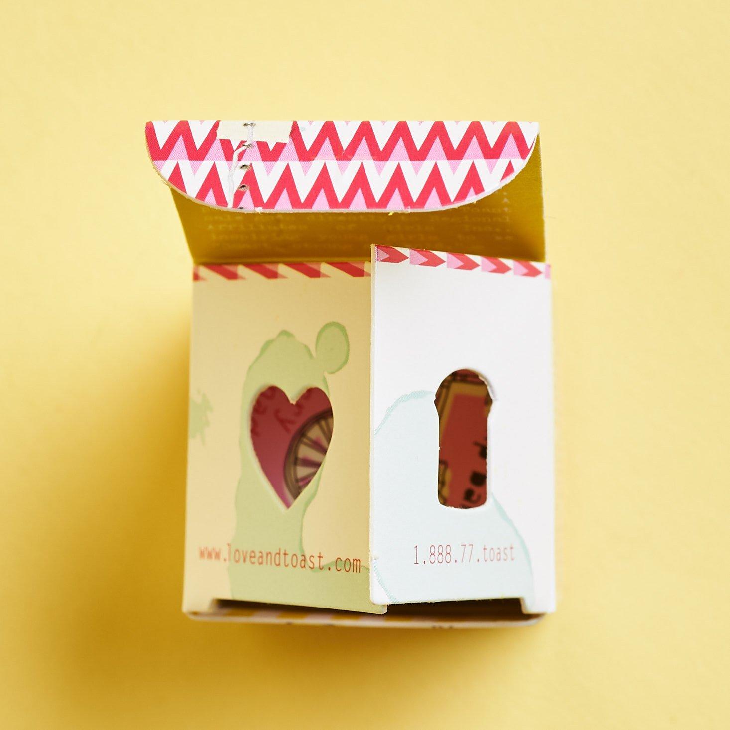 Margot Elena June 2019 review lippy packaging