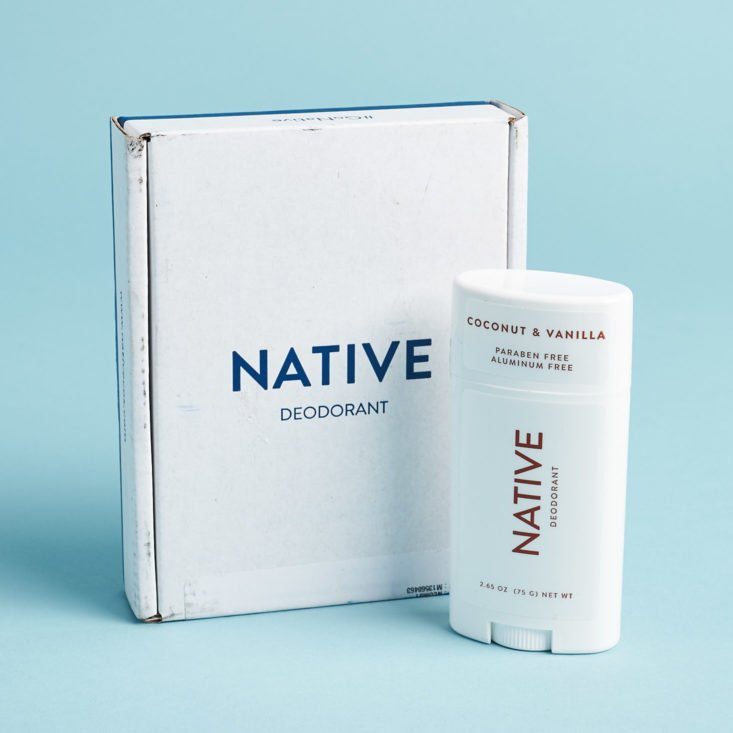 My Native Deodorant Review - Is their Coconut & Vanilla bar the best natural deodorant?