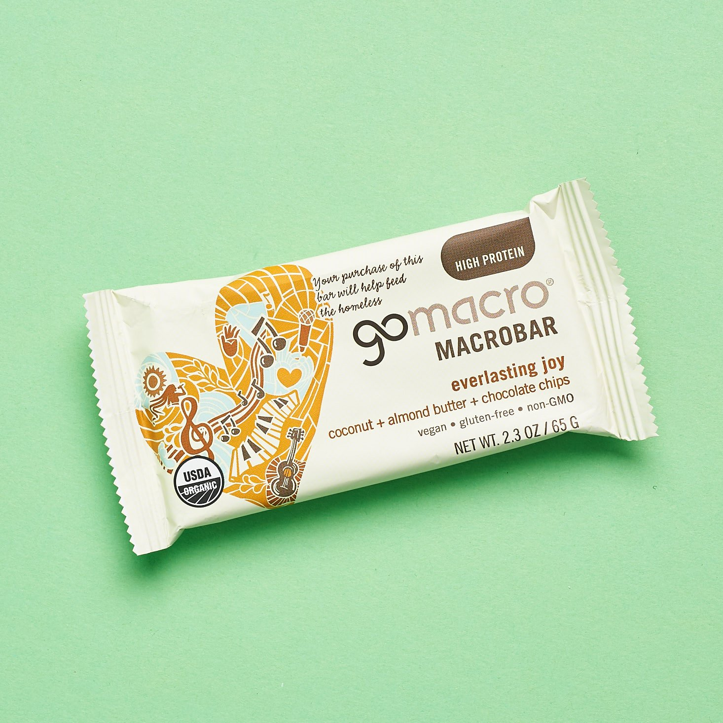 GoMacro MacroBar in Everlasting Joy