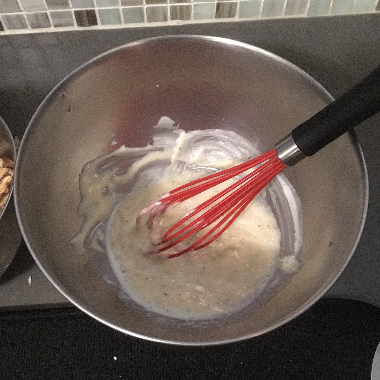 mixed miso mayo