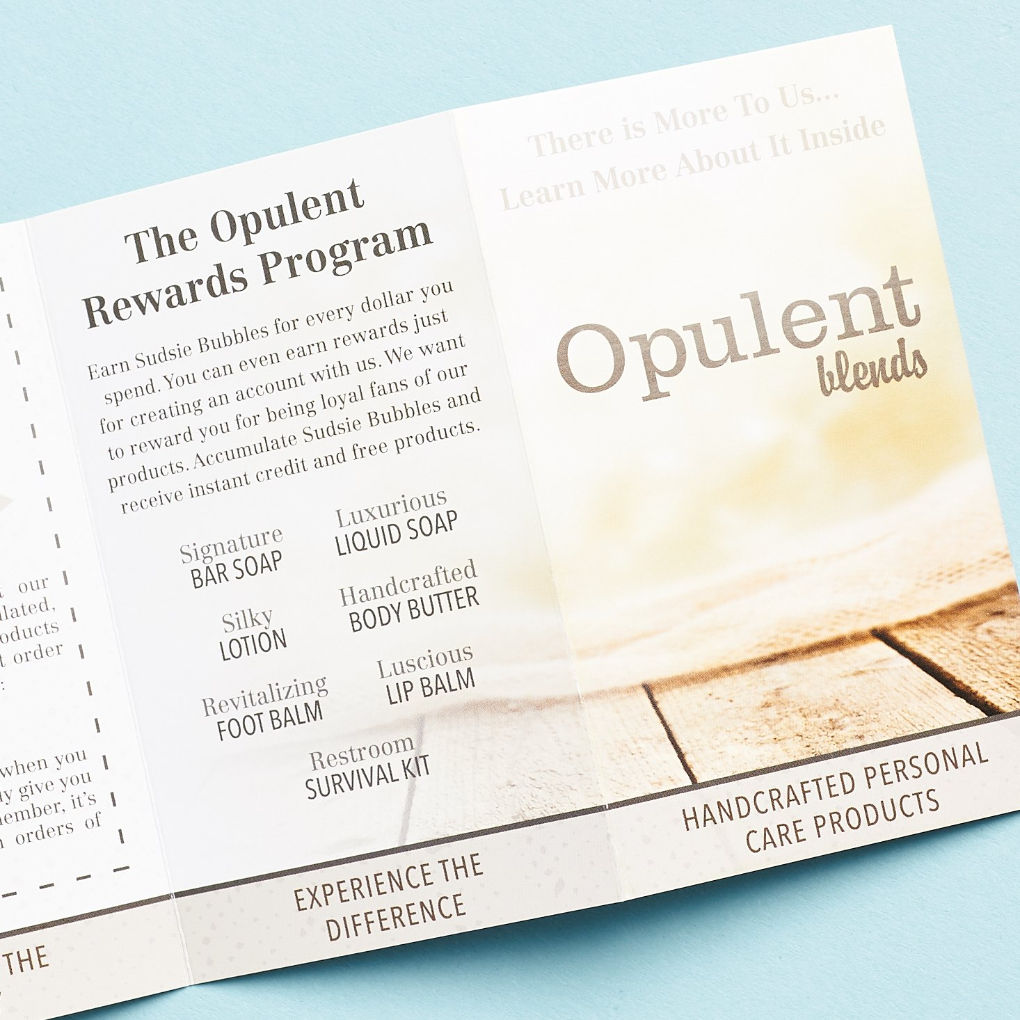 opulent products brochure more pages