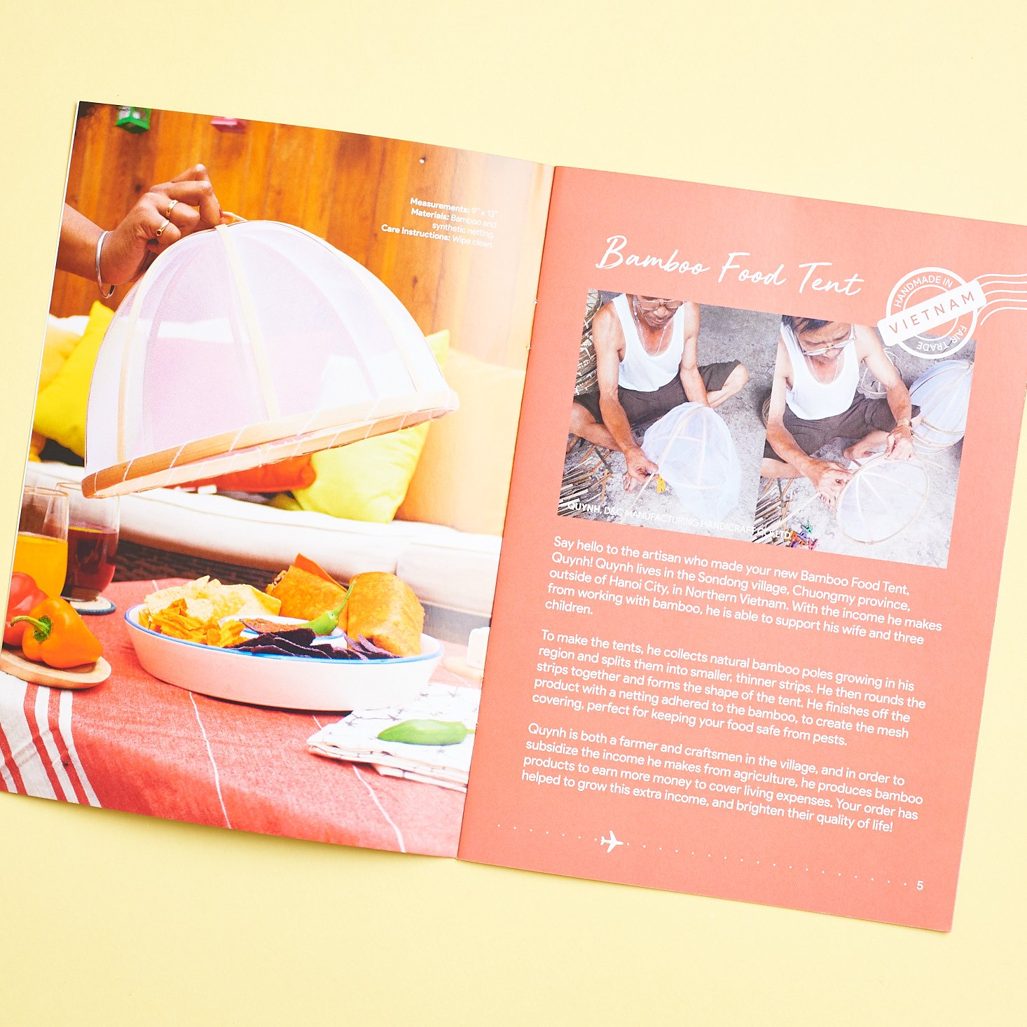 booklet pages