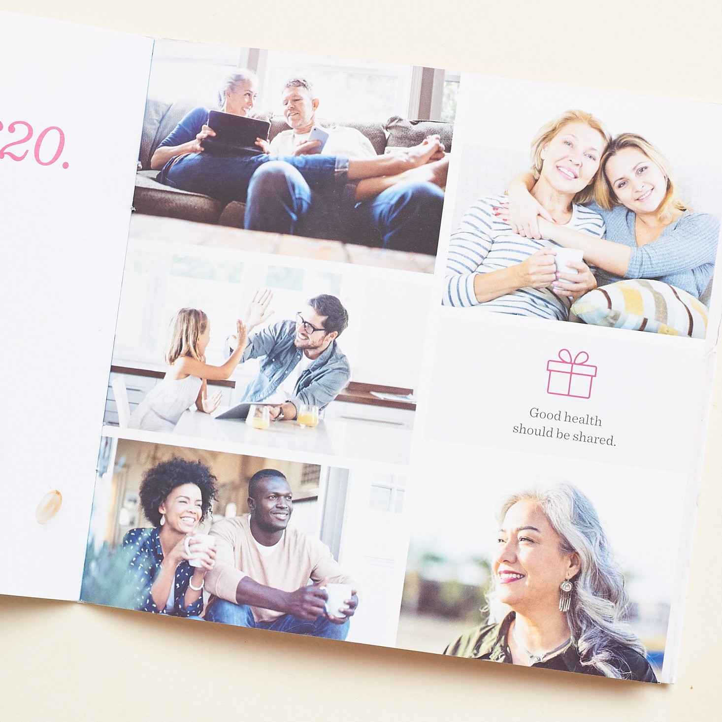 photos of people to illustrate referral program