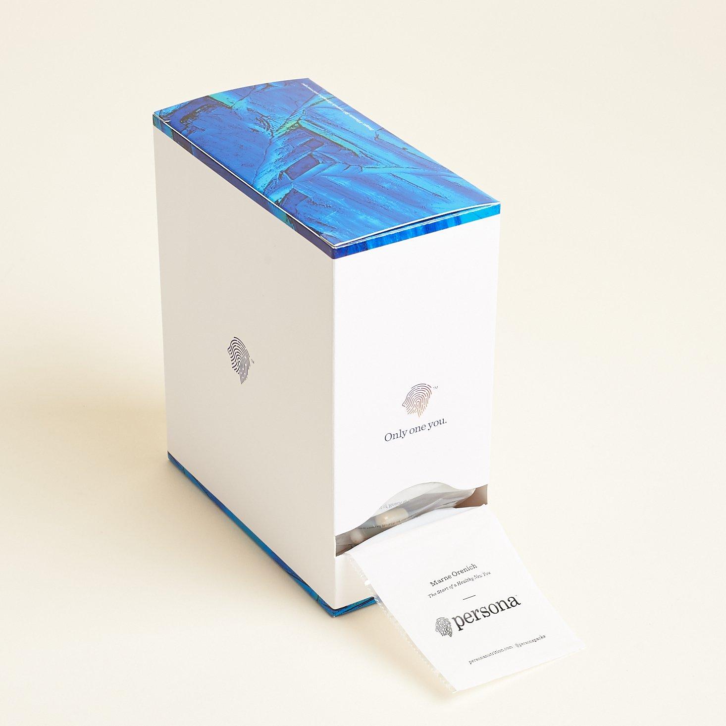 Persona Vitamin box upright
