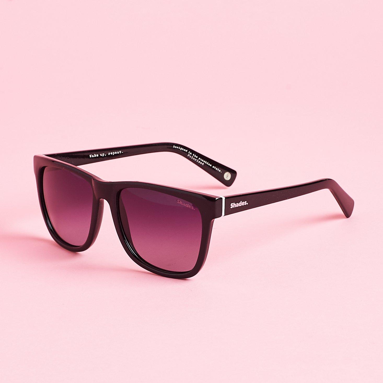 left 3/4 view of Everyday sunglasses