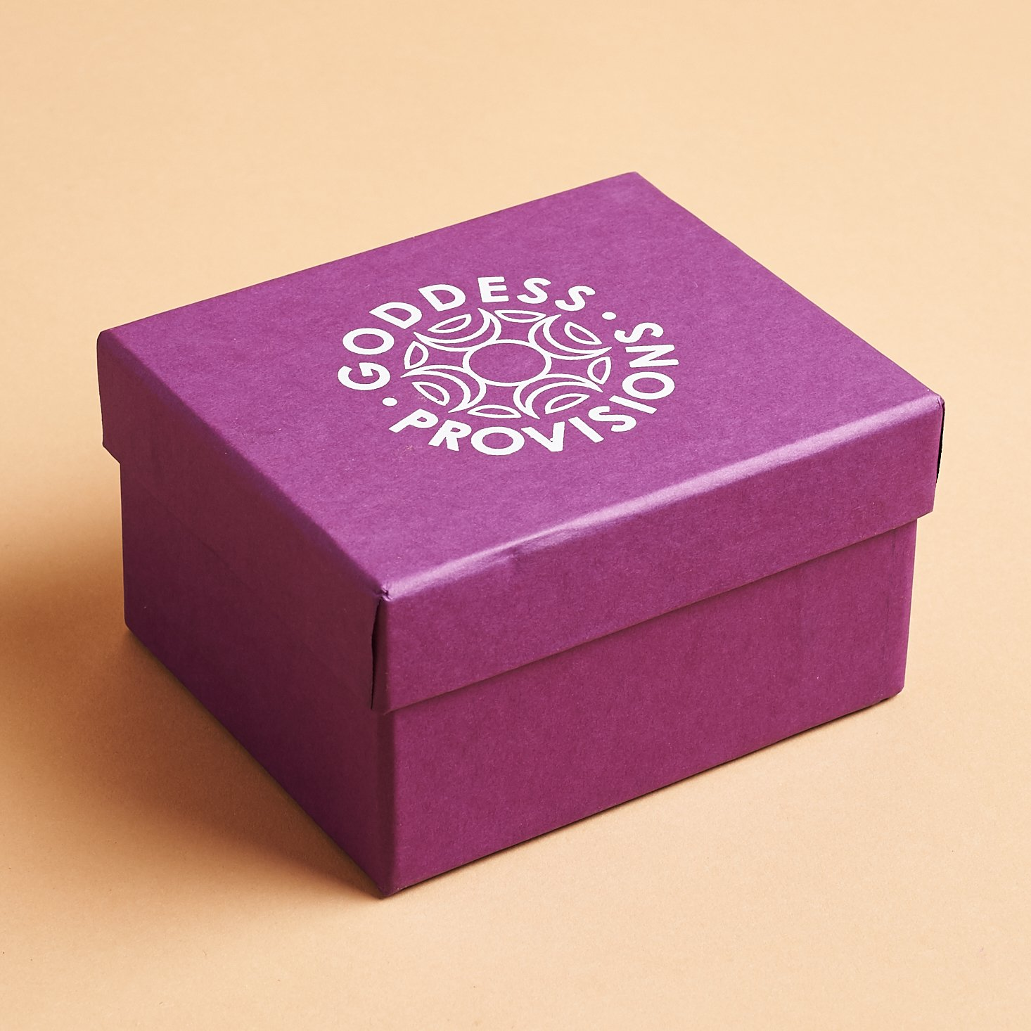 purple goddess provision branded box