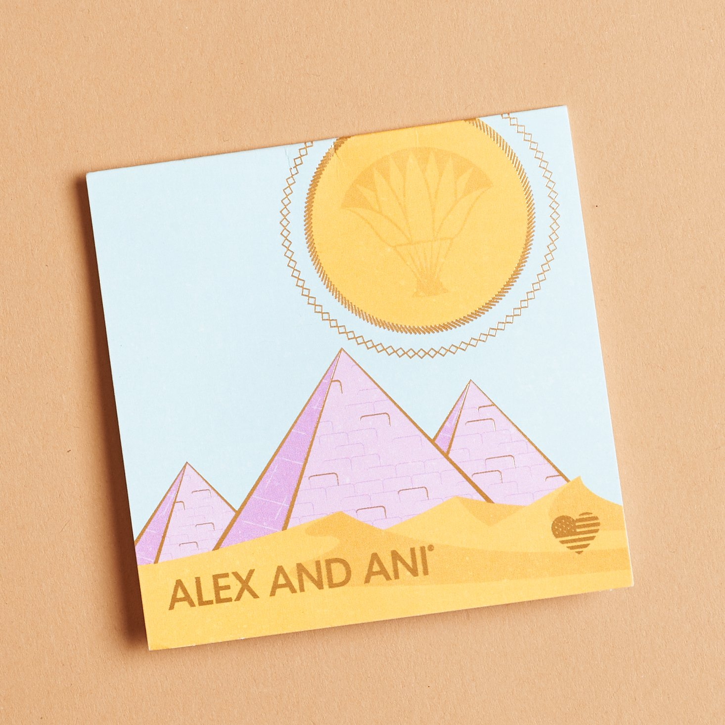 alex and ani info card