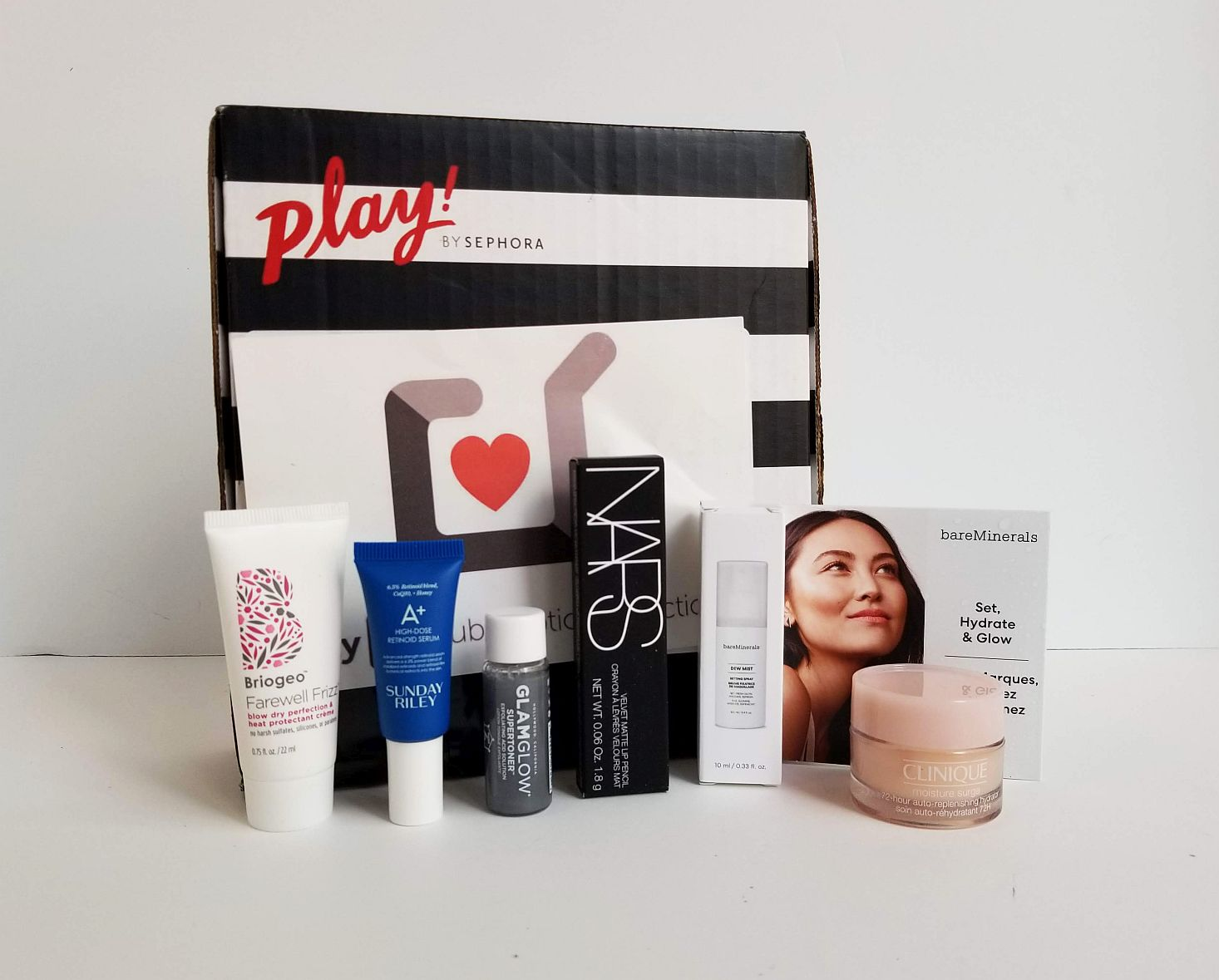PLAY! by Sephora #871 Subscription Box Review - August 2019