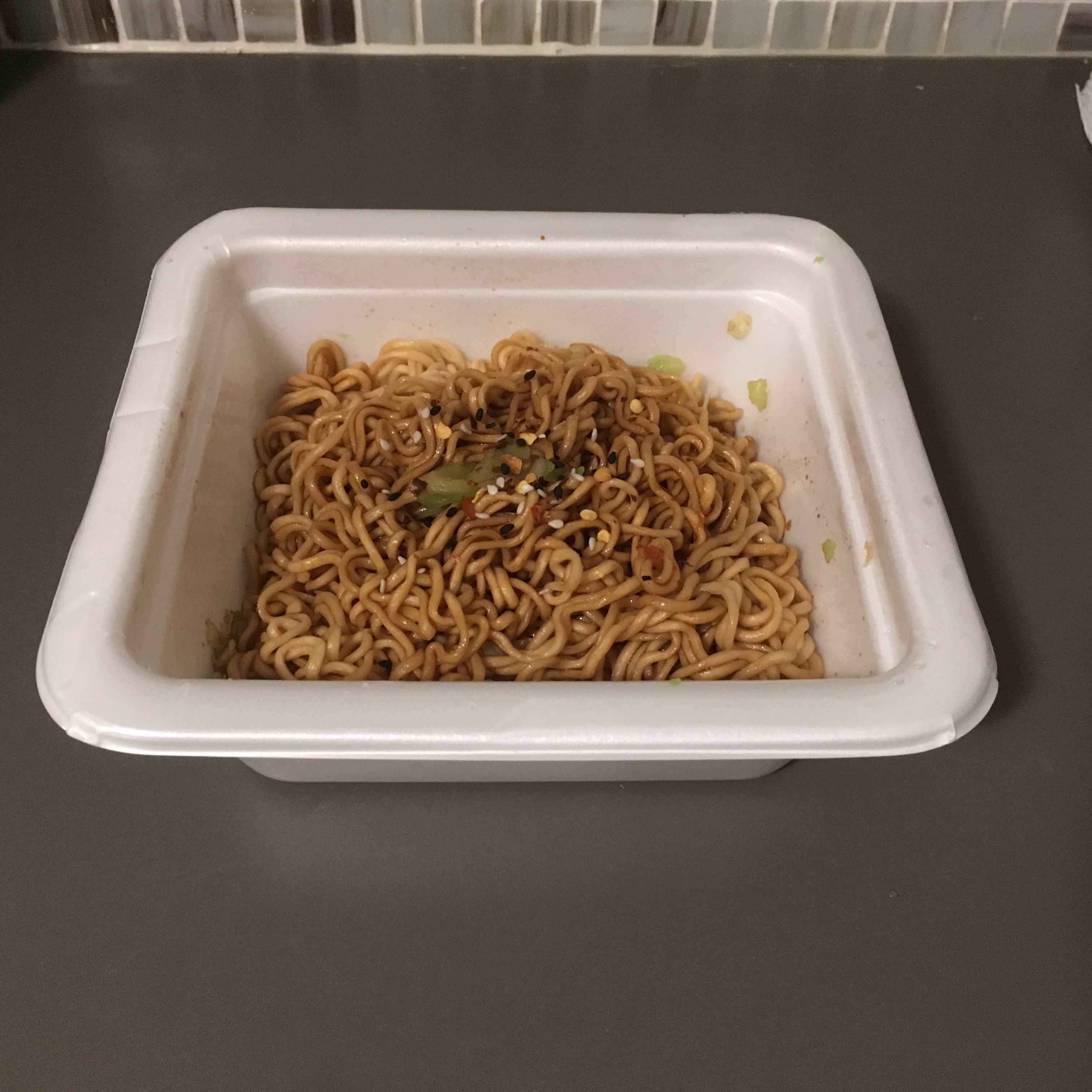 asakusa sauce yakisoba cooked