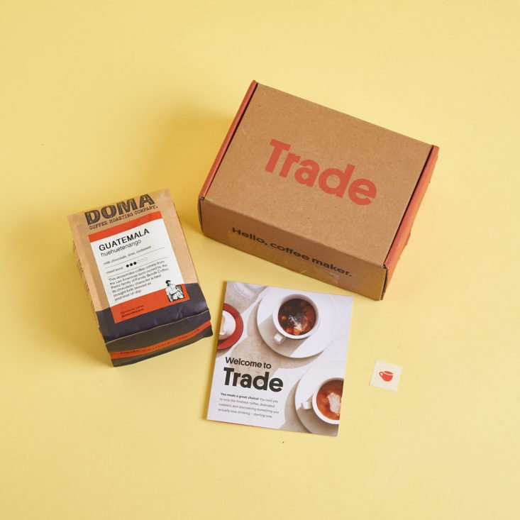 Best Coffee Subscription Gift: Trade Coffee