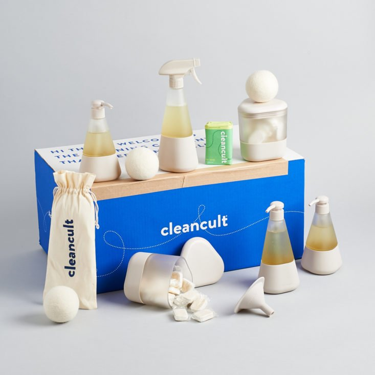 My Honest cleancult Review - Green Cleaning Products Delivered