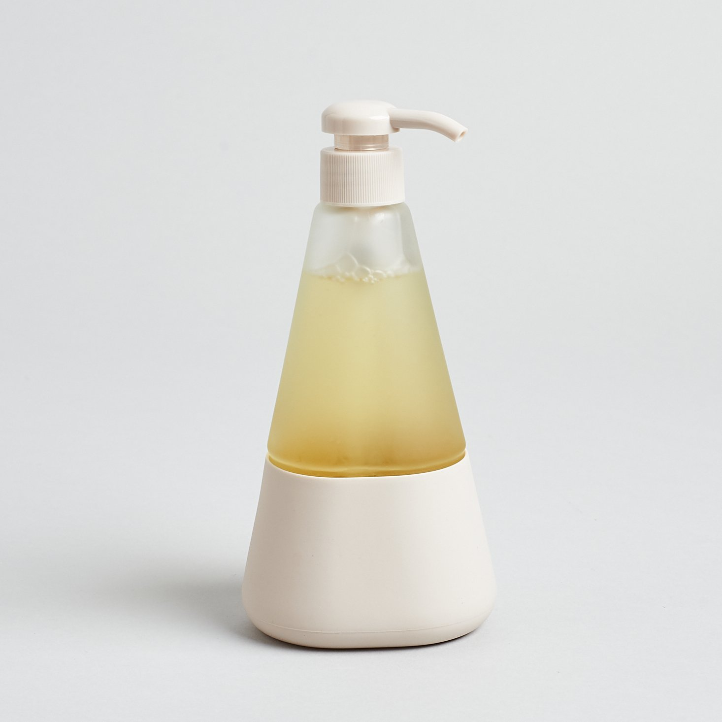 cleancult liquid dish soap in glass pump