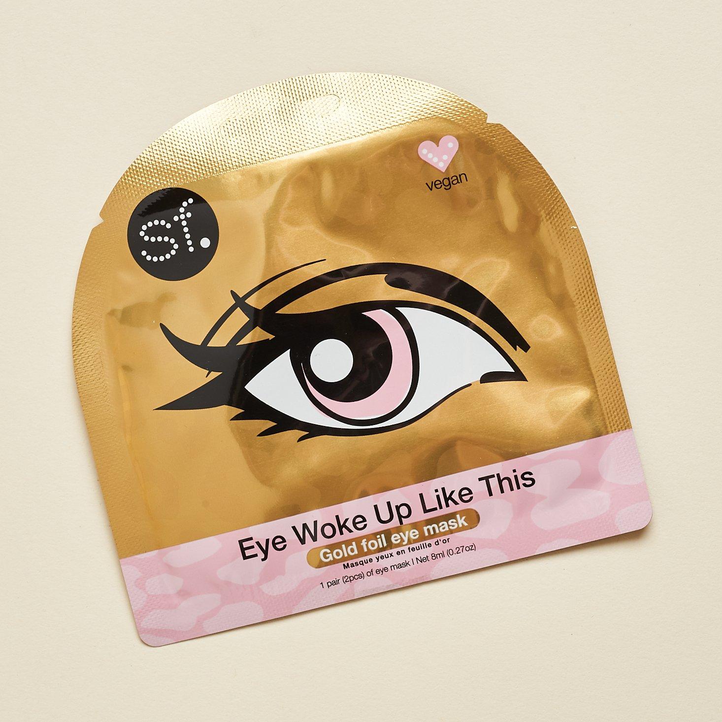 SF Glow Gold Foil Eye mask