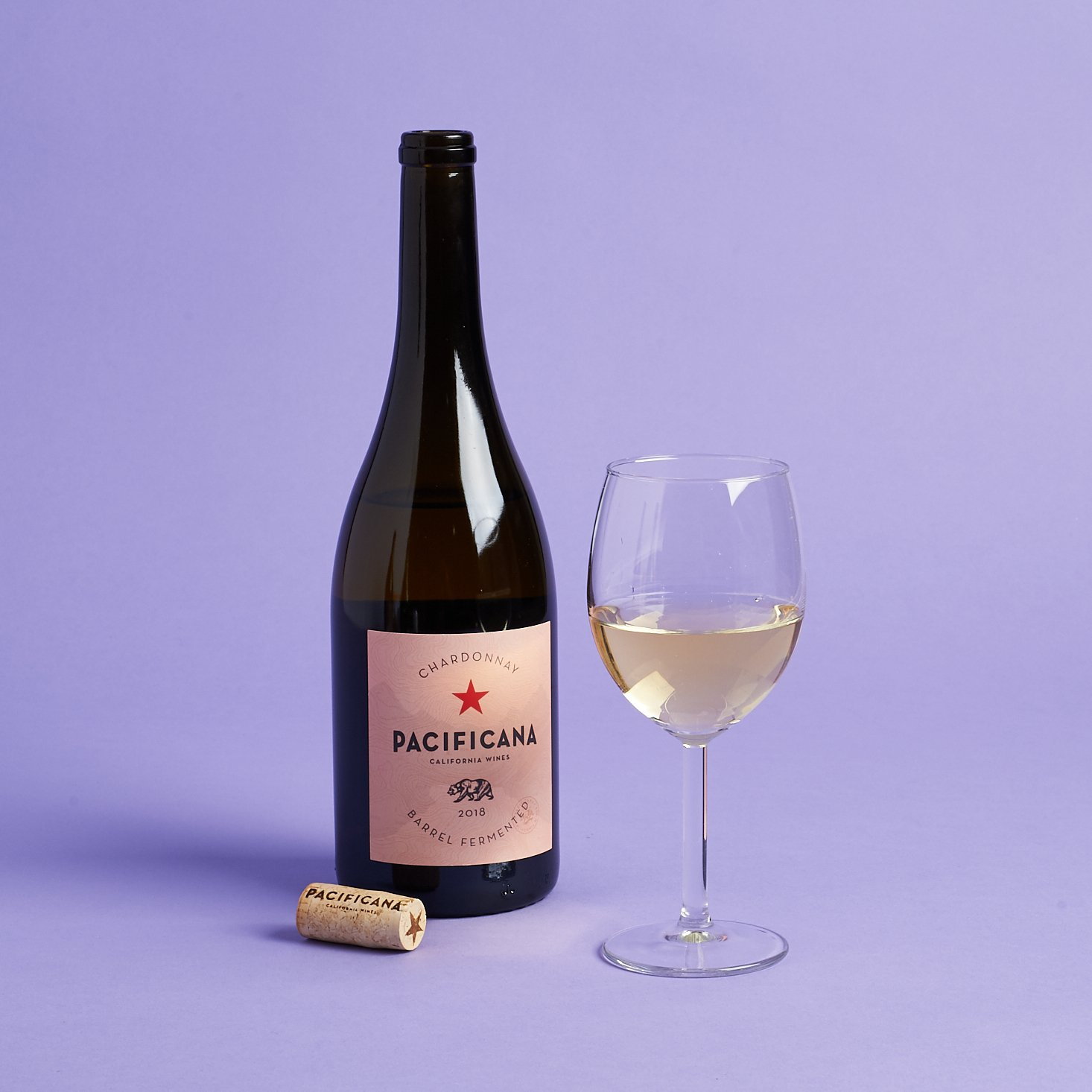 pacificana chardonnay full bottle and glass