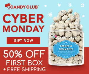 Candy Club Cyber Monday Deal – 50% Off Your First Box!