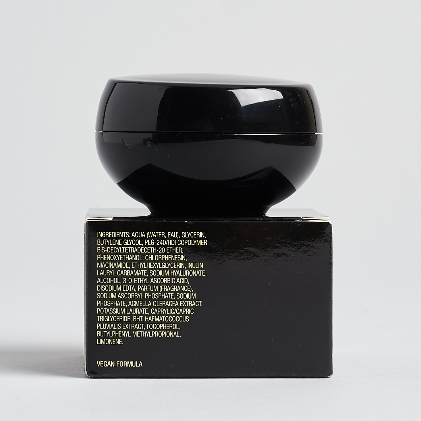 back of packaging with more info and text