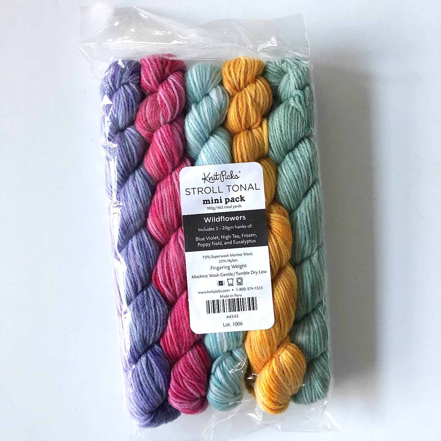 Knit Picks Review October 2019 multi minis one