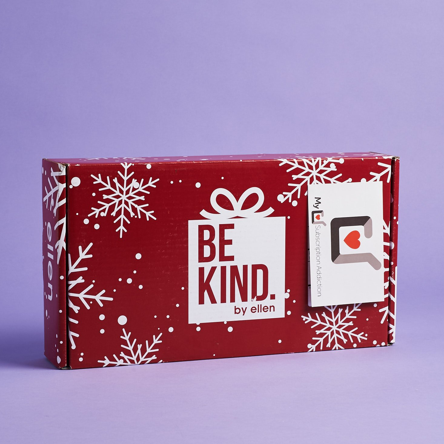 Be Kind by Ellen Subscription Box Review – Winter 2019