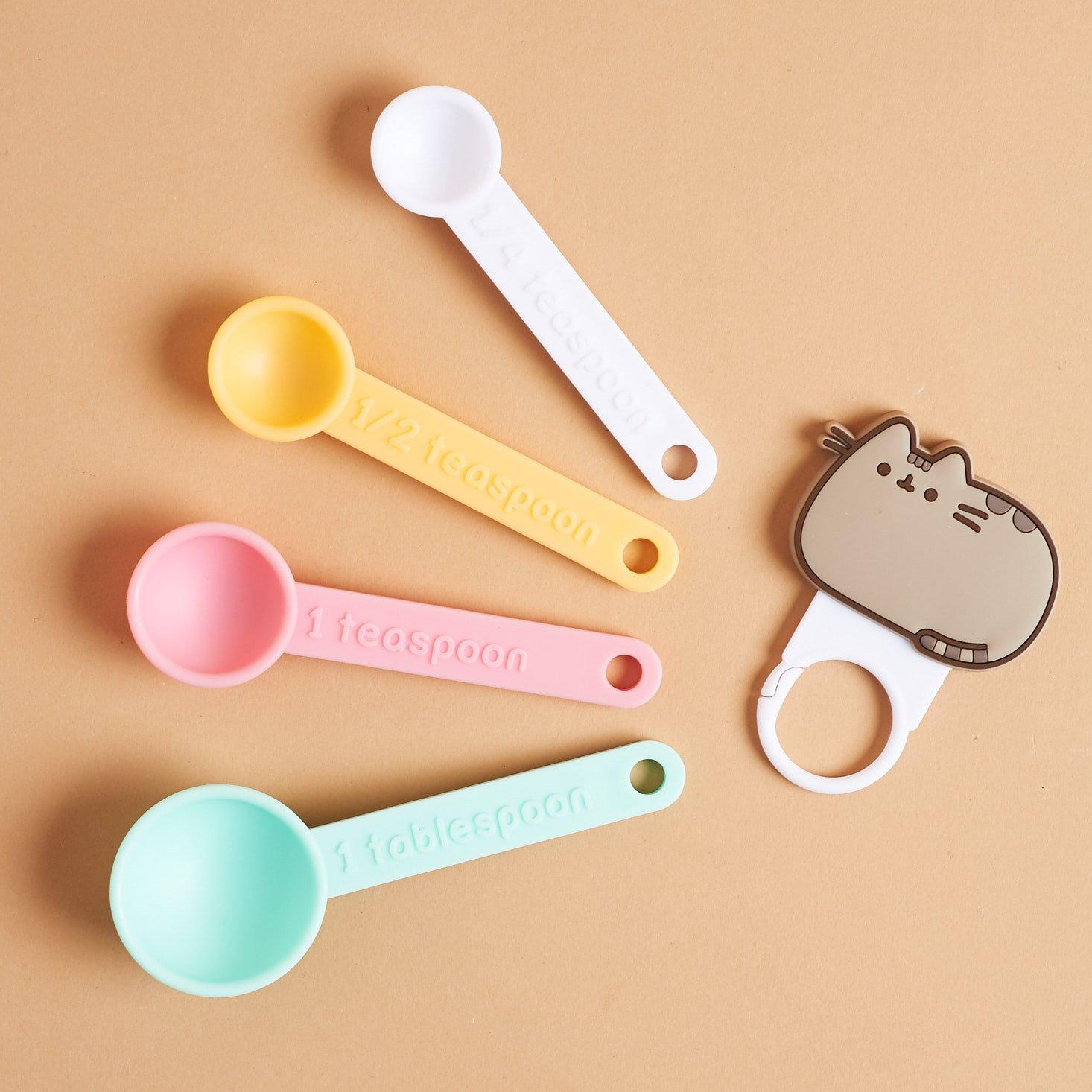 Pusheen Measuring spoon set - separated from ring