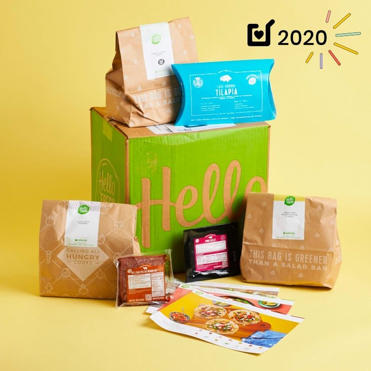 Best Weekly Meal Kit: Hello Fresh