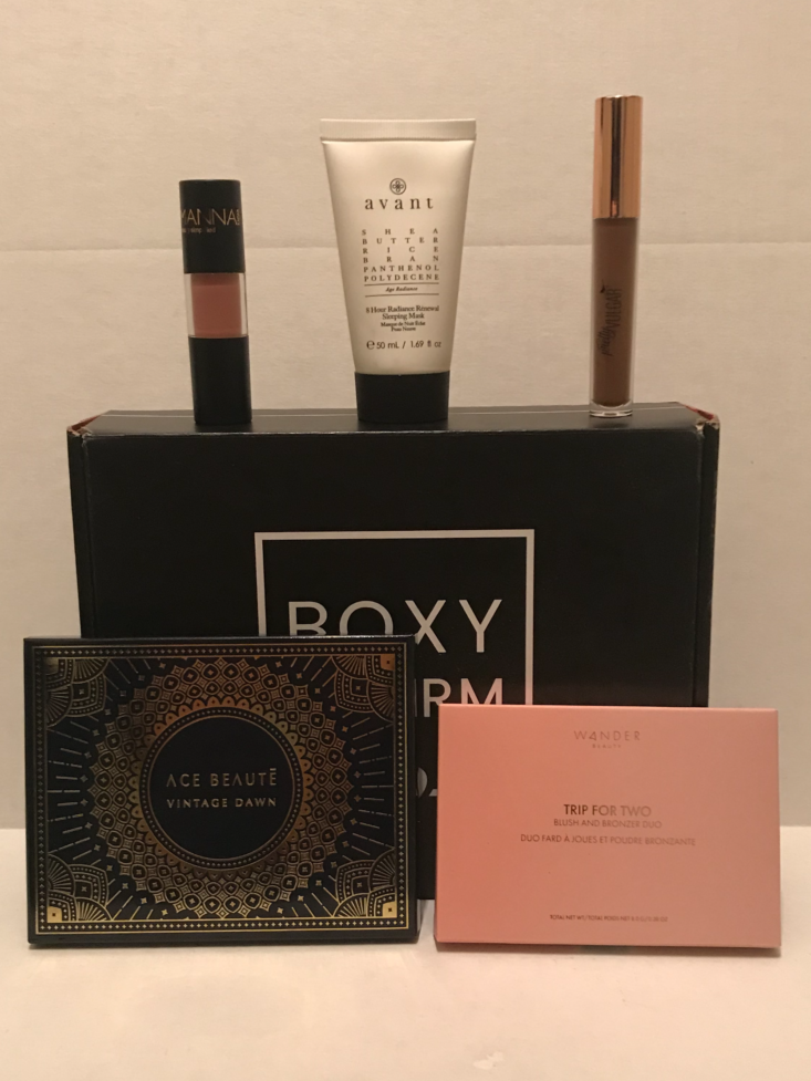 Boxycharm Tutorial January 2020 - Contents Of Box