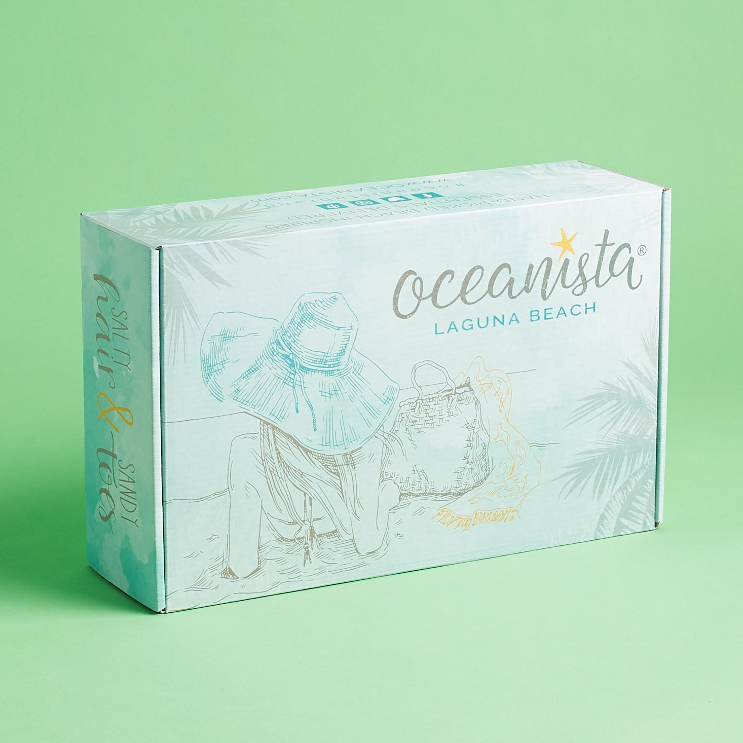 Oceanista Subscription Box Review – Winter 2019