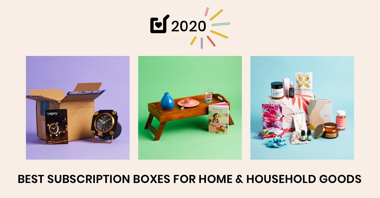 16 Best Subscription Boxes for Home & Household Goods – 2020 Readers' Choice