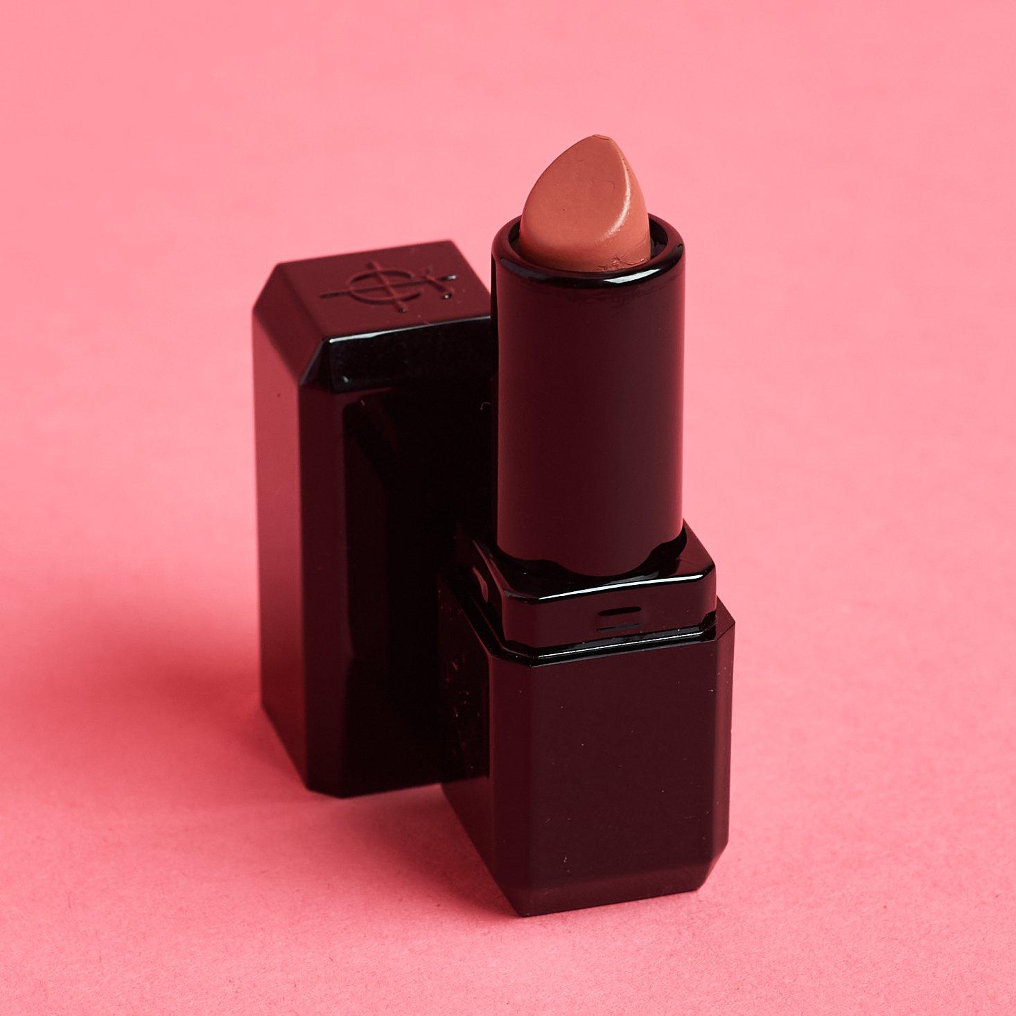 all black mini tube of lipstick